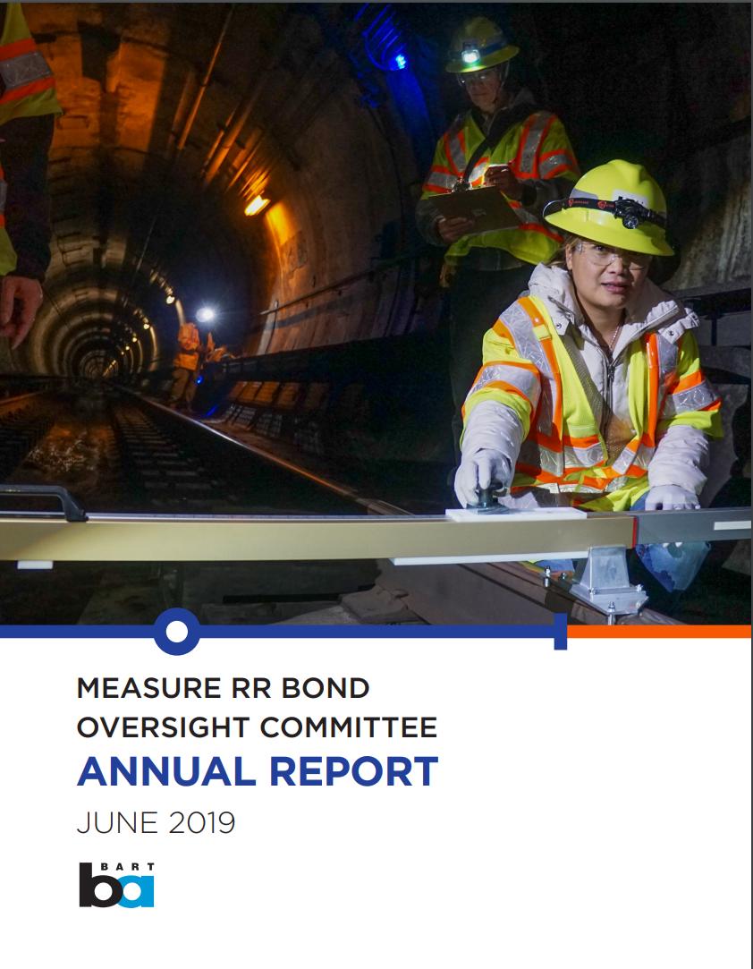 2019 Measure RR Annual Report cover
