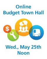 Online Budget Town Hall 5/25/16