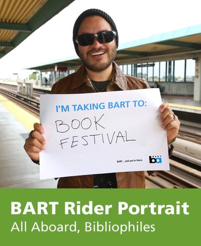 Portrait of BART customer
