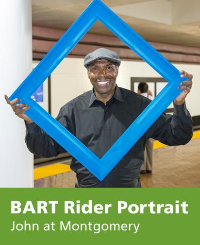BART Rider Portrait
