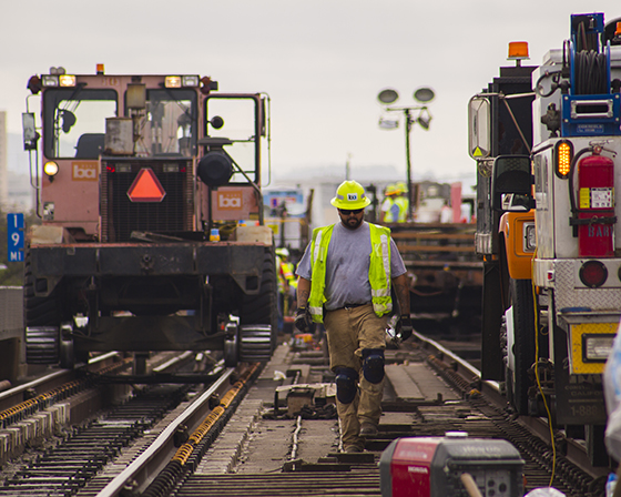 Track worker