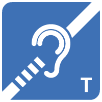 Assisted listening device icon