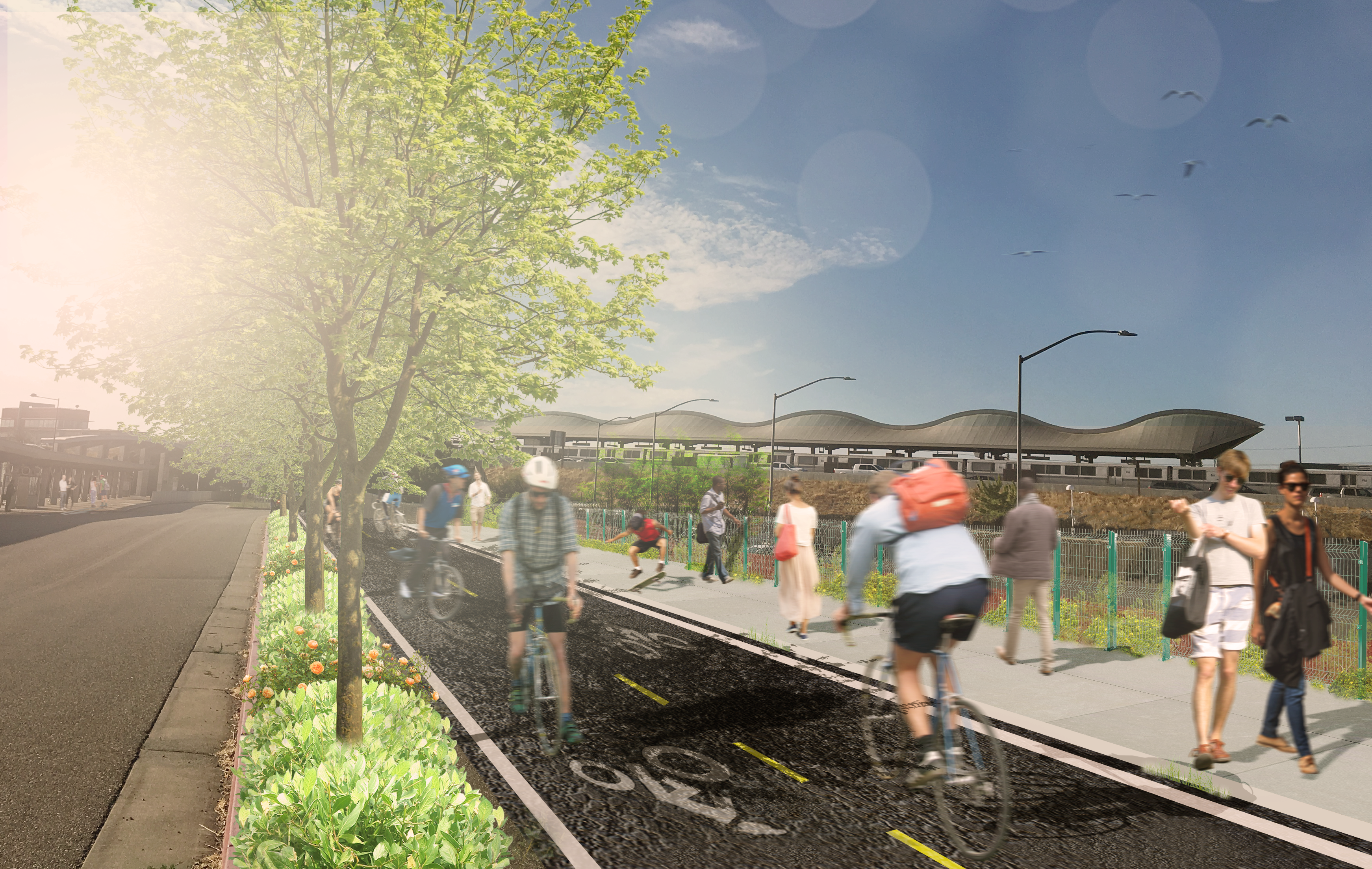Future Iron Horse Trail rendering