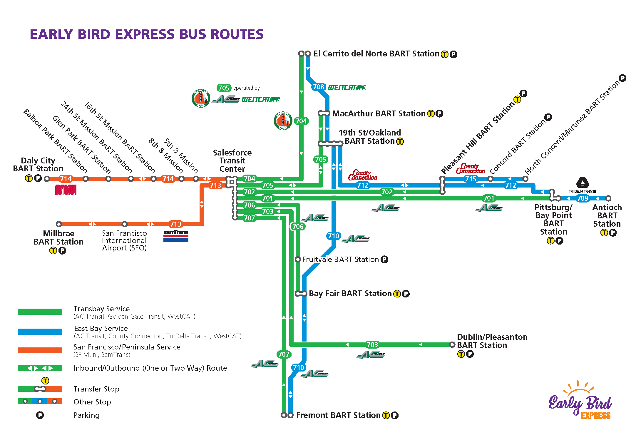 Early Bird Express | bart.gov on go metro map, go rail map, go street map, subway map, go train map,