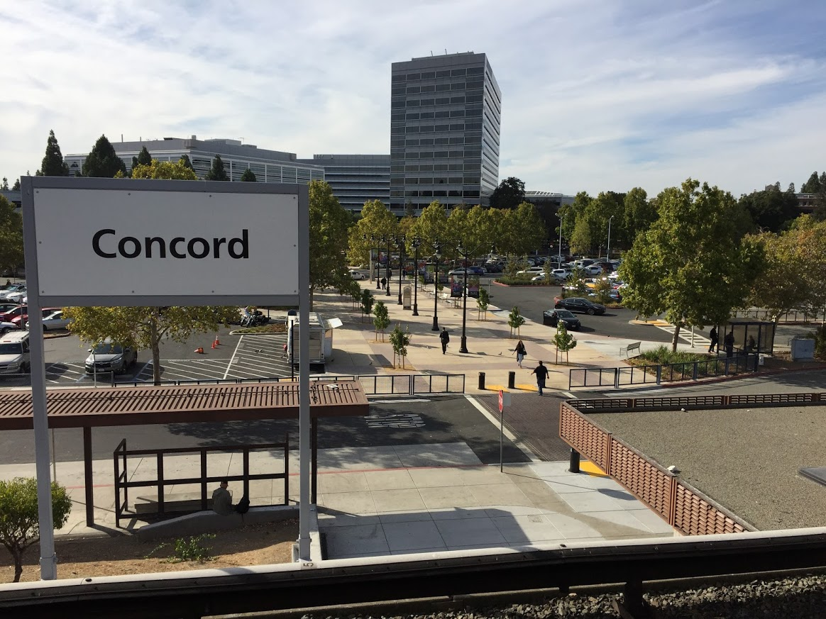 Concord Plaza finish