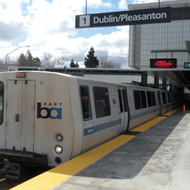 Dublin/Pleasanton BART Station image