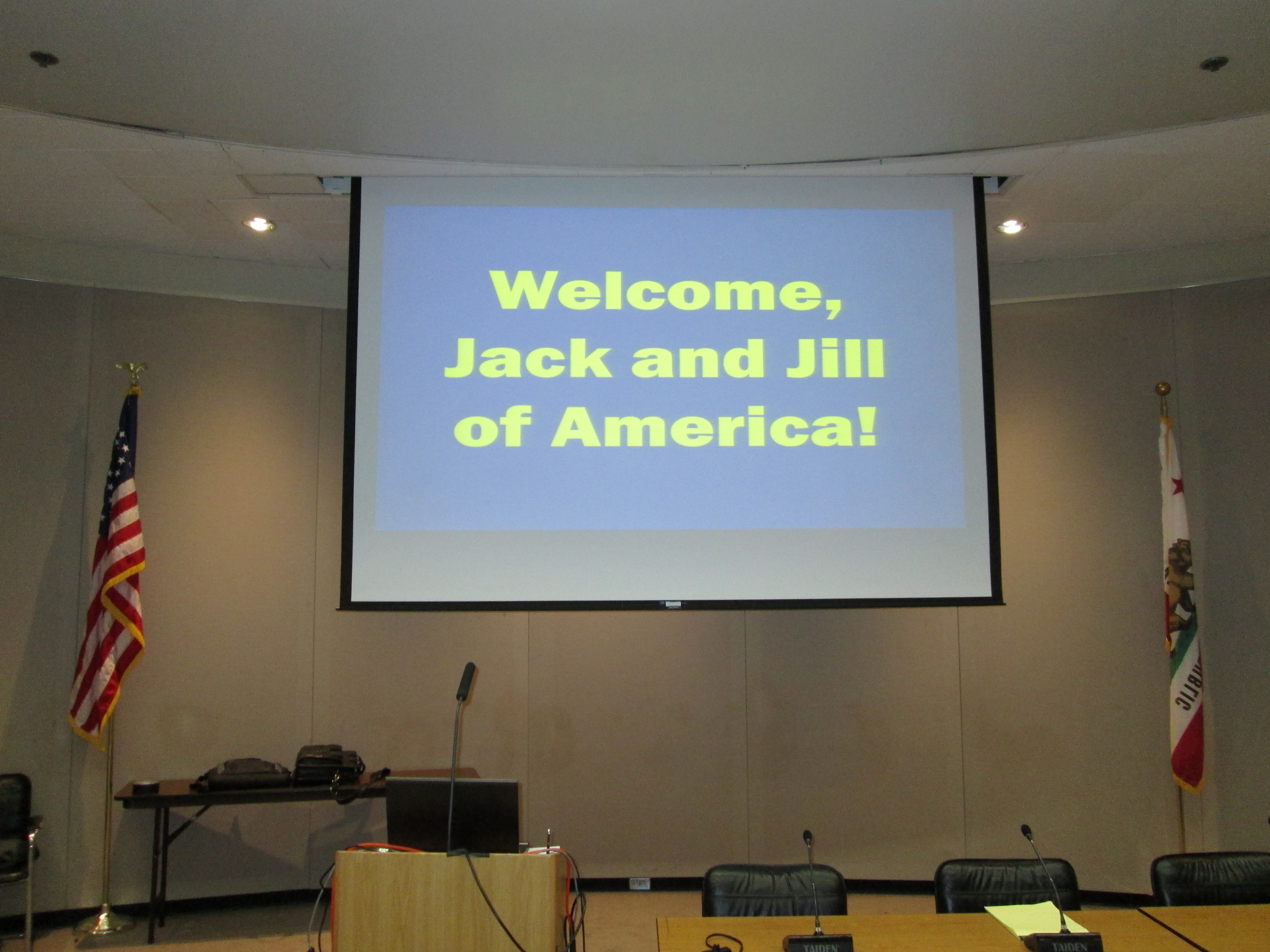 Picture from OIPA/CRB Forum with Jack and Jill of America