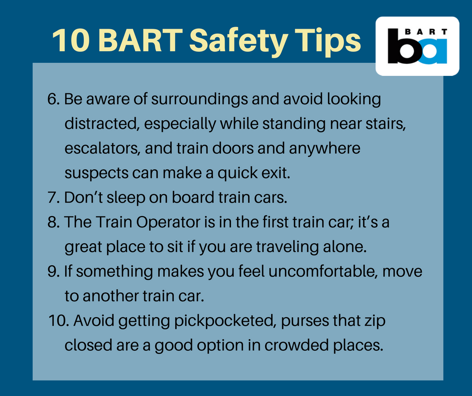 Safety tips (last 5)