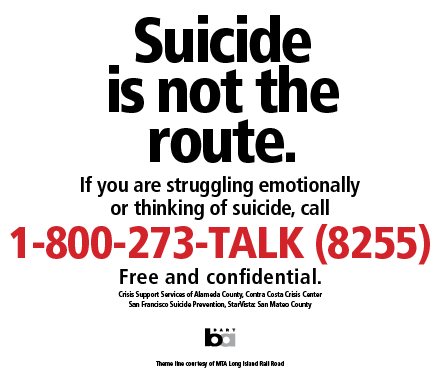 Suicide Prevention | bart.gov
