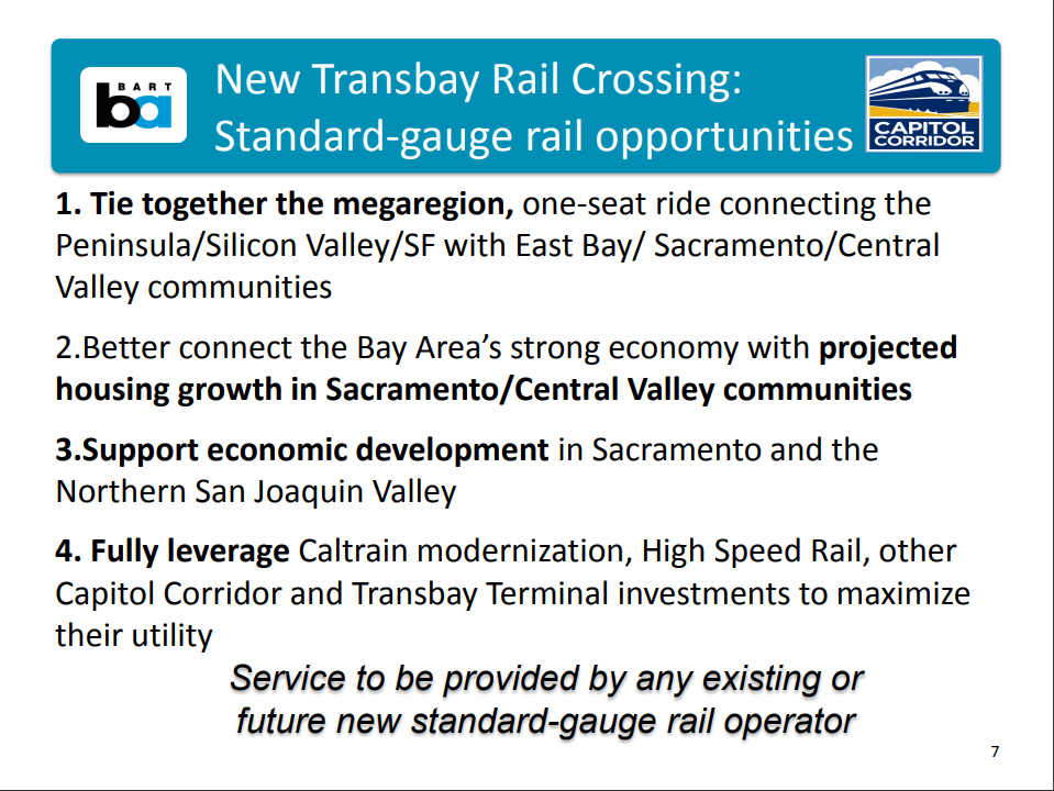Transbay Gauge Opportunities