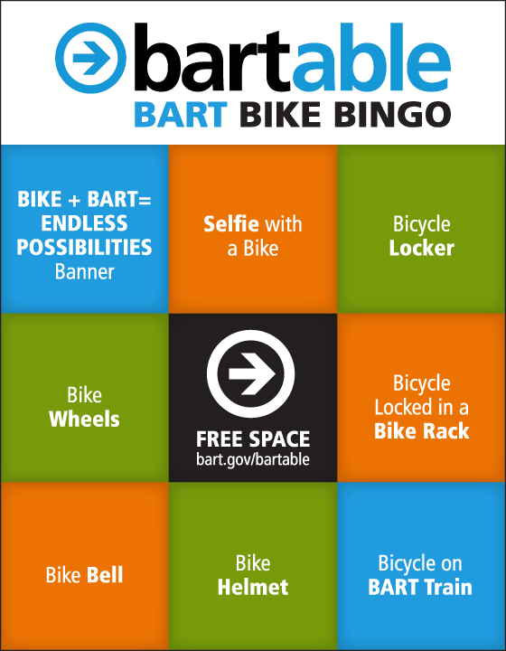 Bikes On Bart Rules BART Bike Bingo
