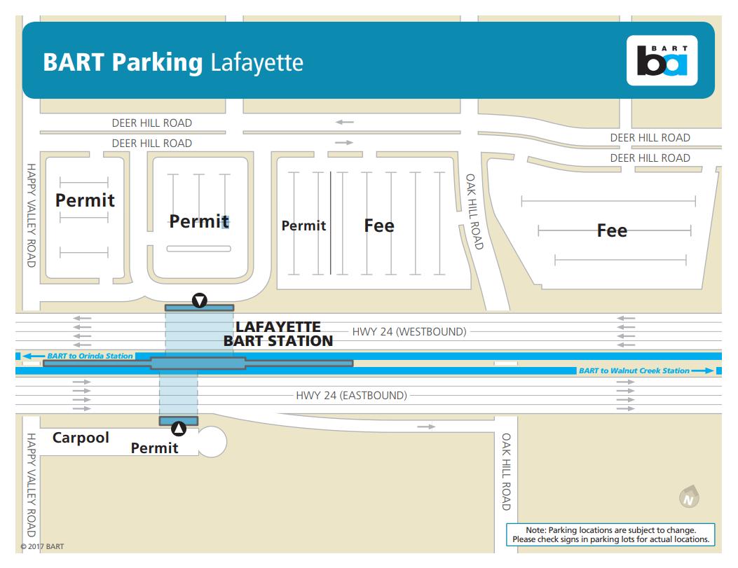 Parking Overview | bart.gov on