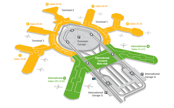 Departing San Francisco International Airport (SFO) | bart.gov on sfo transportation map, sfo baggage claim map, sfo airport map,
