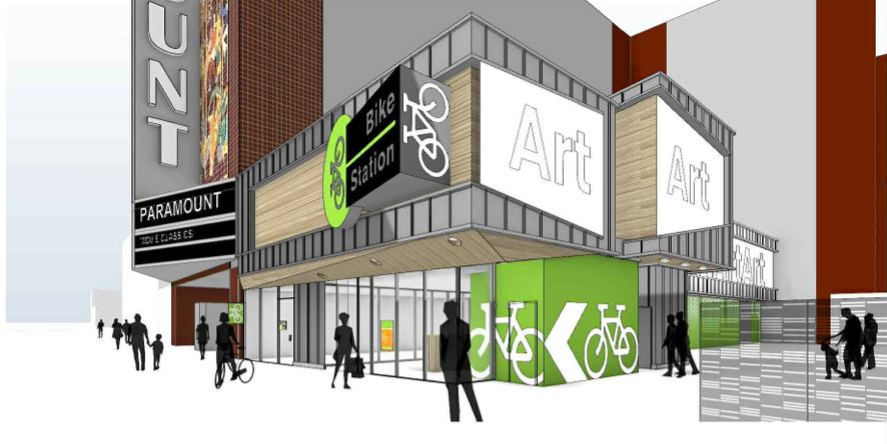 Planned 19th St bike station rendering 3