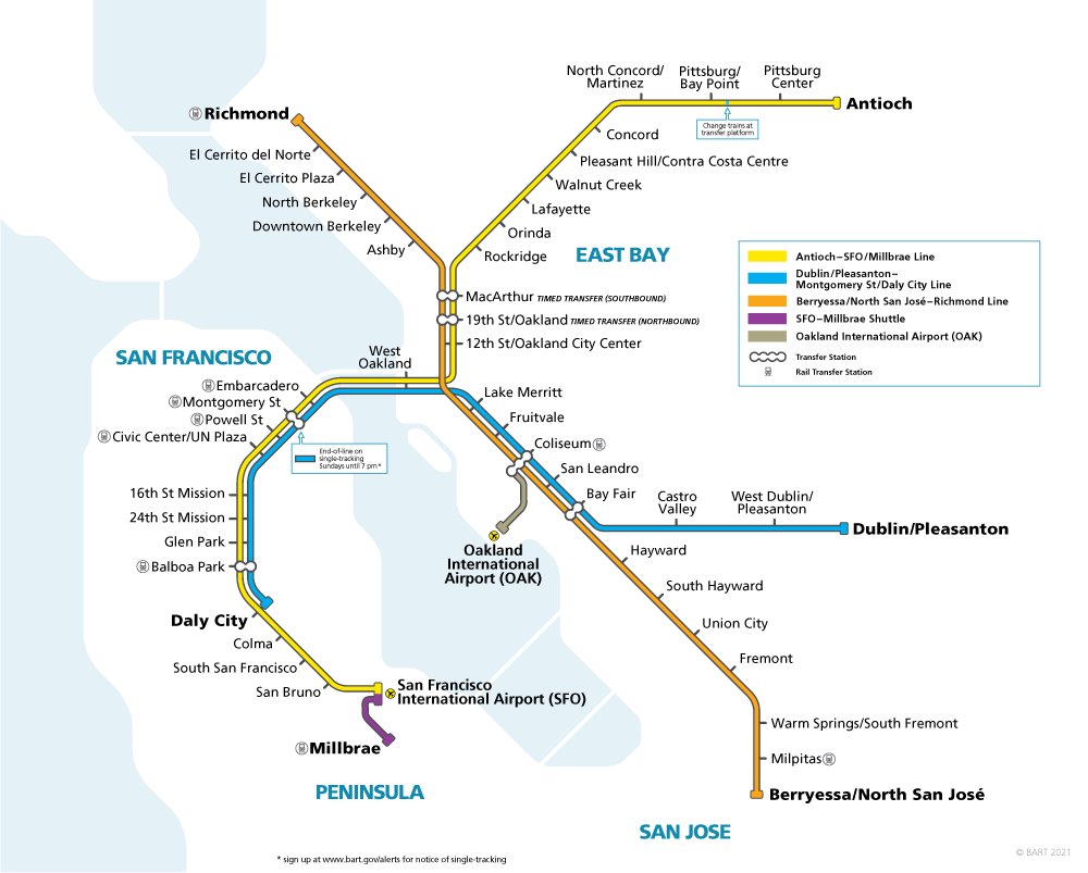 Schedules by Station | bart.gov