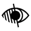 Symbol for Visual Impairment