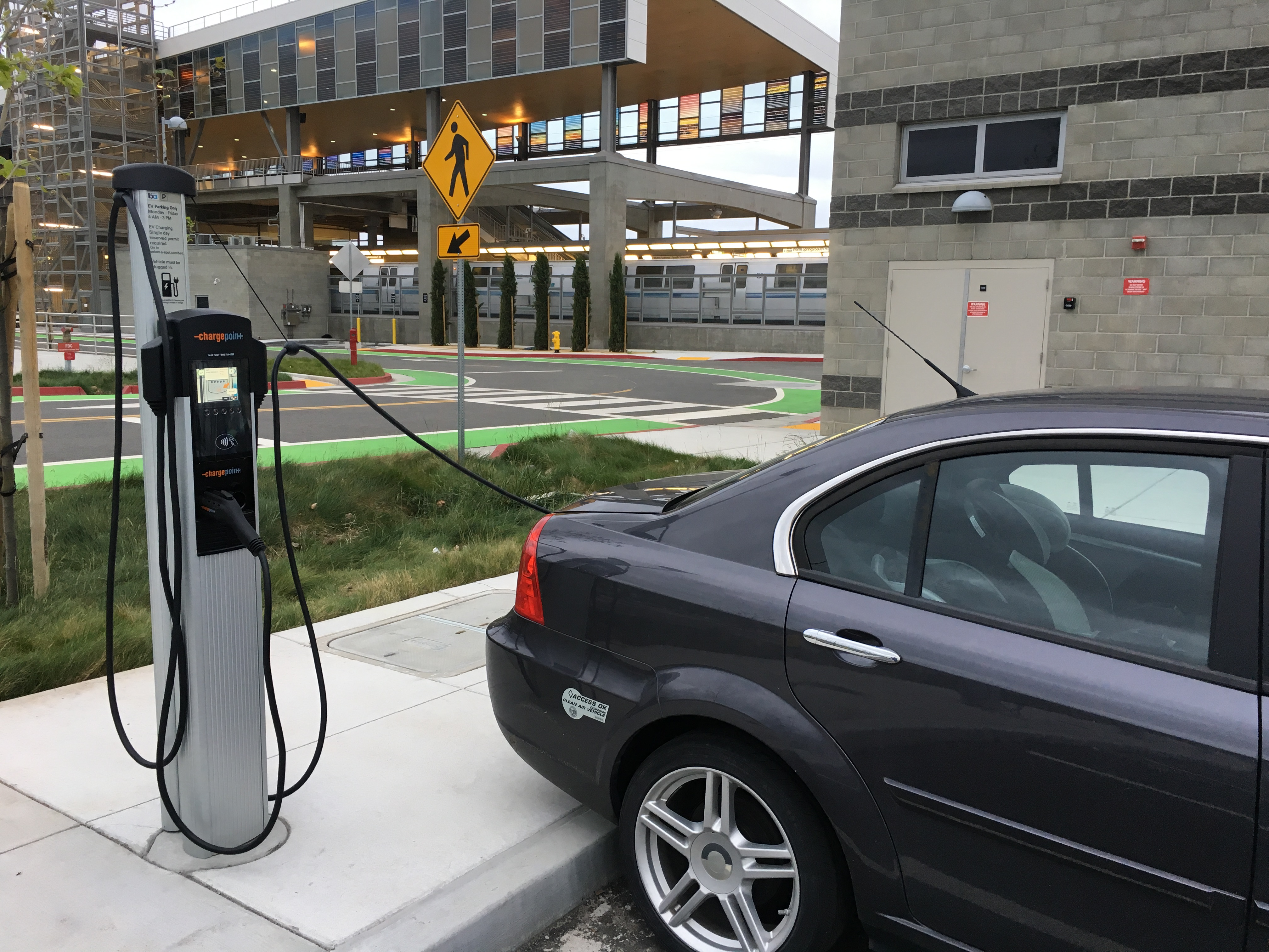 Ambitious Electric Vehicle Pilot Program Comes To Warm Springs Station