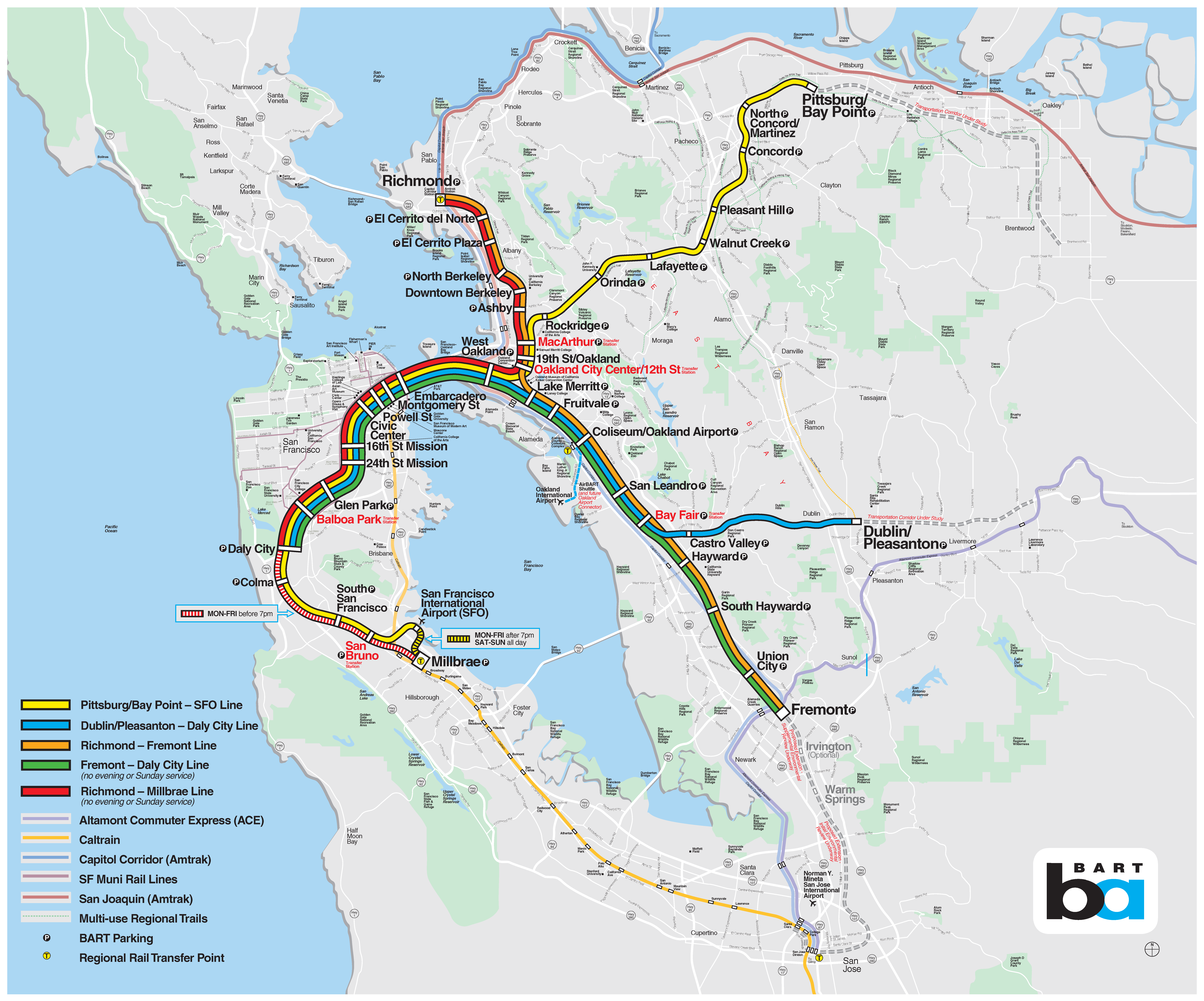 Podcast Explore The History Of The Bart Map Bart Gov All systems listed in this guide, even those that are shuttles, are open to the general public. bart gov