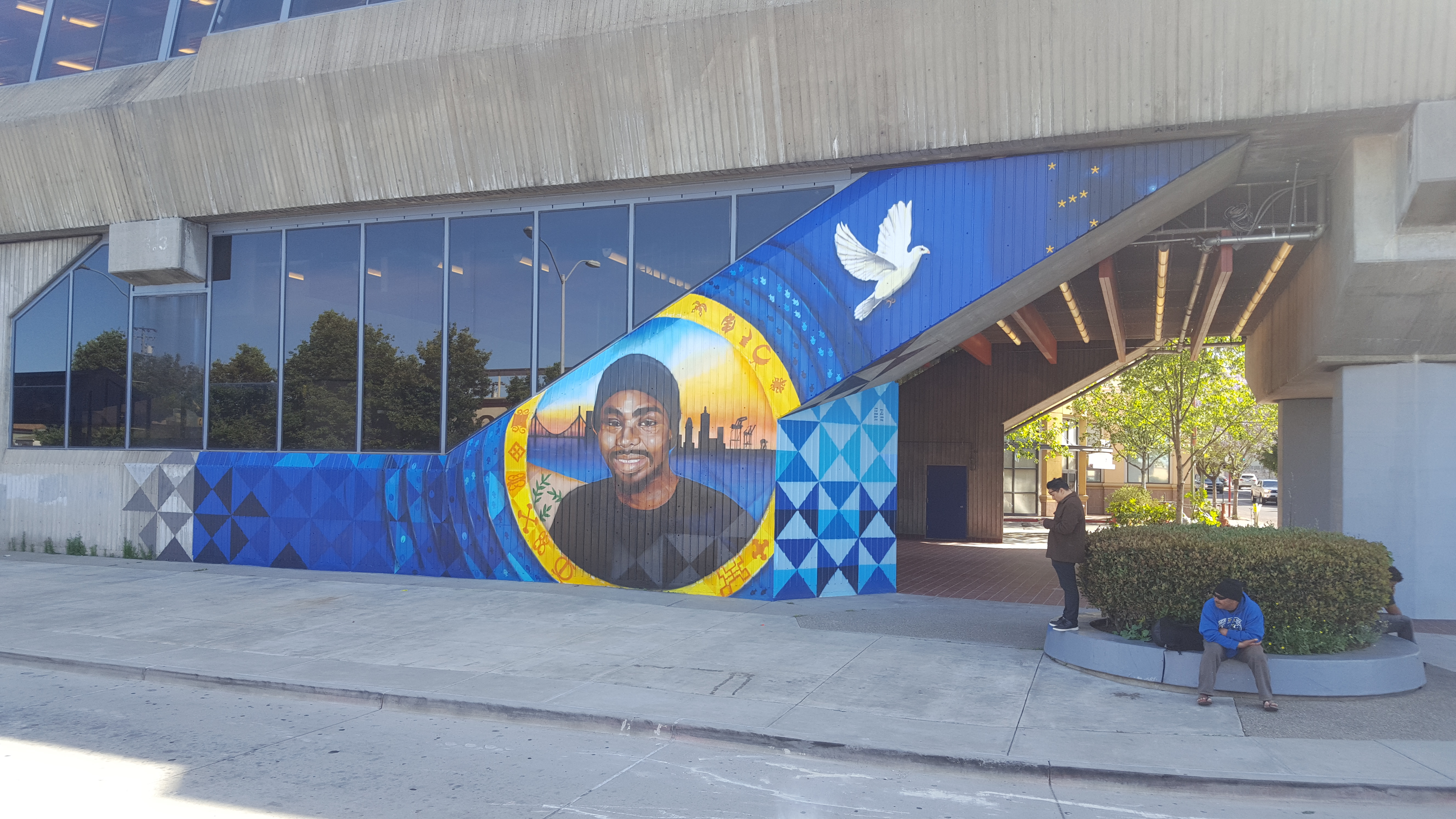 Oscar Grant III Mural at Fruitvale