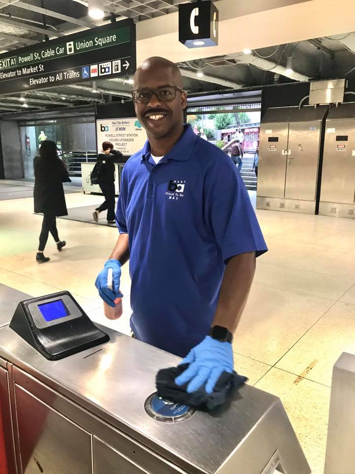 Chikala, Powell station cleaner