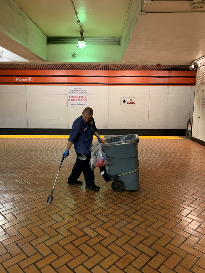 BART System Services cleaners receive praise from riders ...