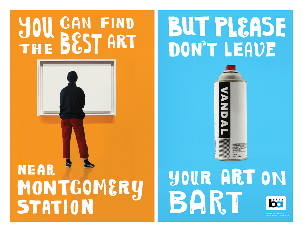 Don't Leave Your Art on BART