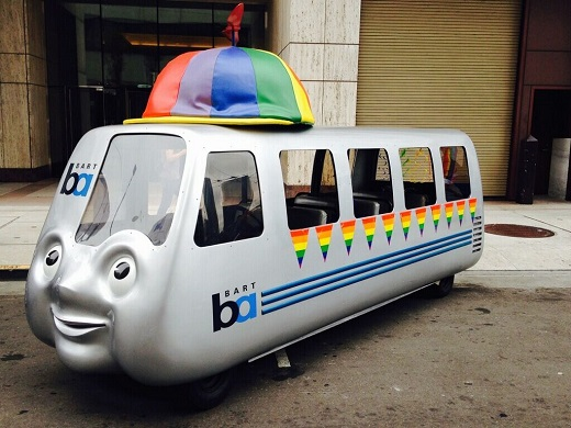 BARTmobile at SF Pride