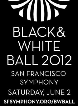 Black and White Ball logo