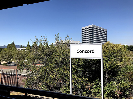 Concord sign