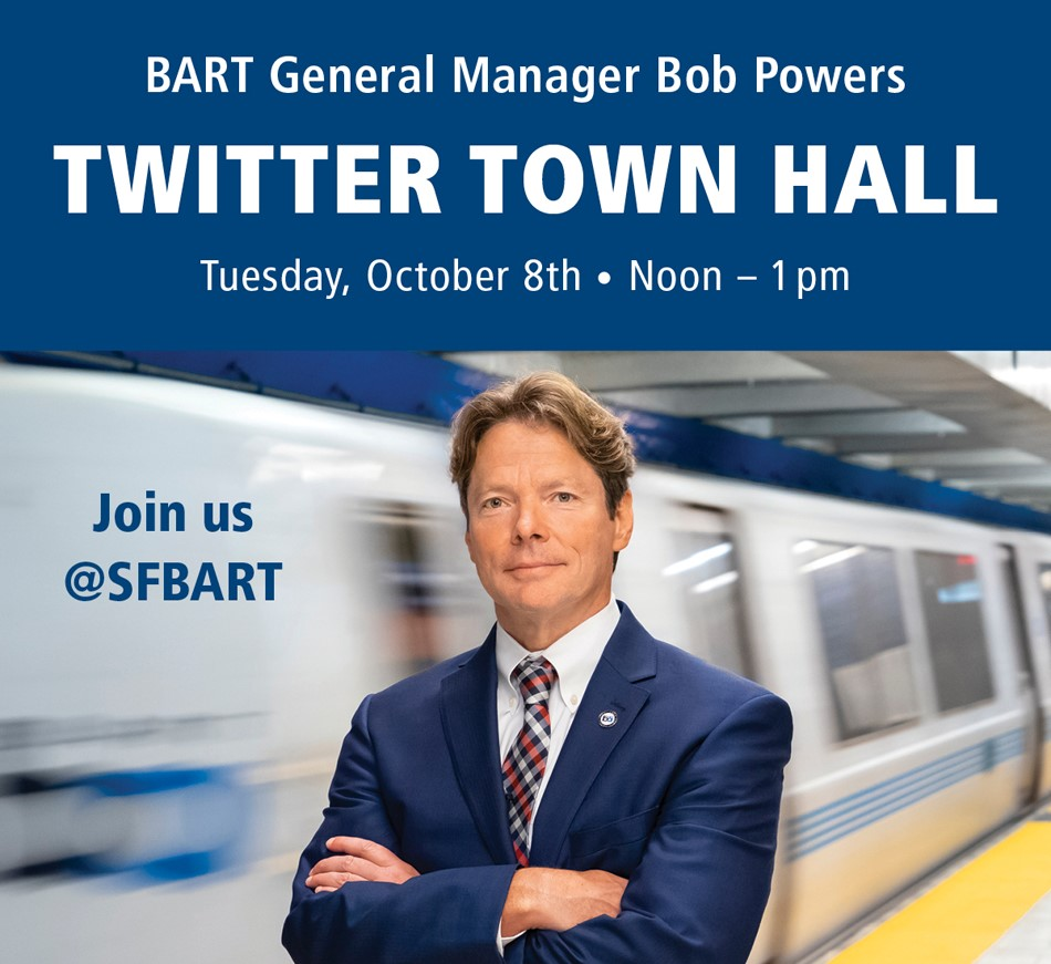 Twitter Town Hall Oct 8 Noon-1pm