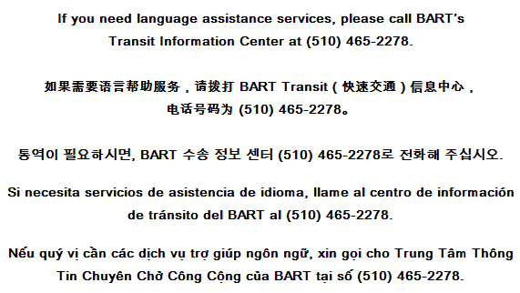 Language Assistance info