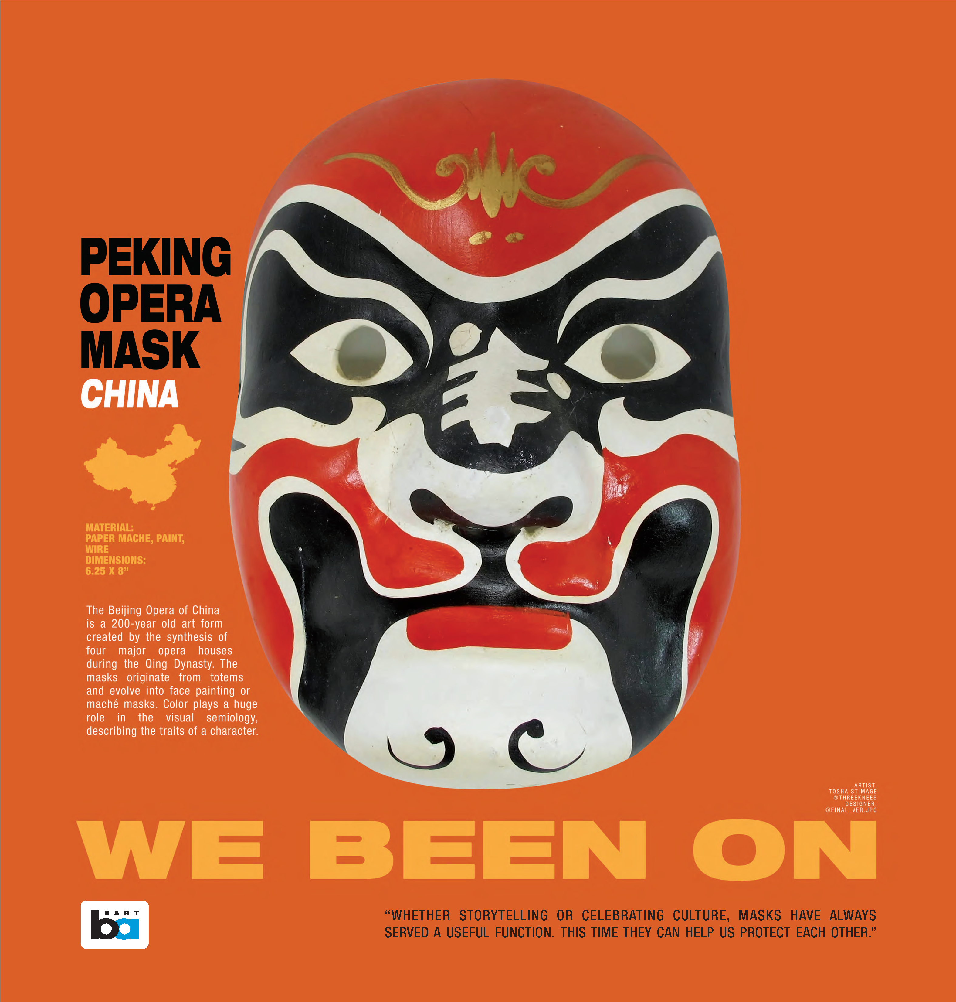 Masks Peking Opera House