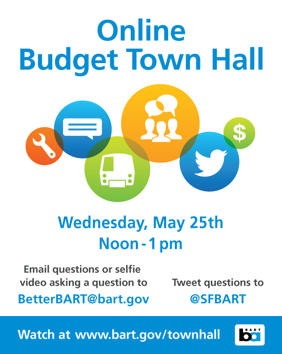 May 16, 2016 Online Budget Townhall