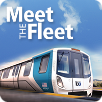 meet the fleet graphic of new train