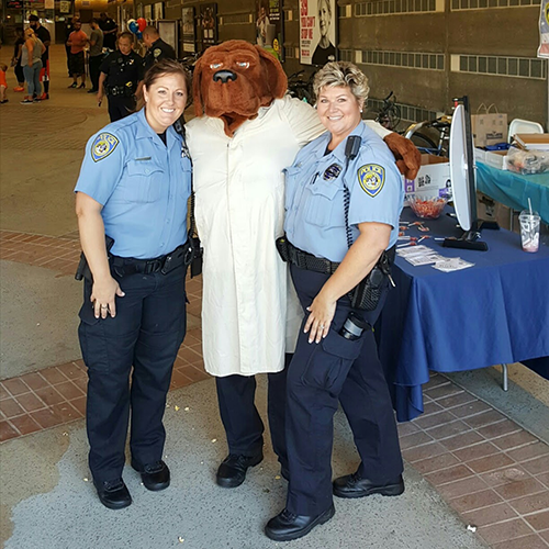 BART PD at 2016 NNO