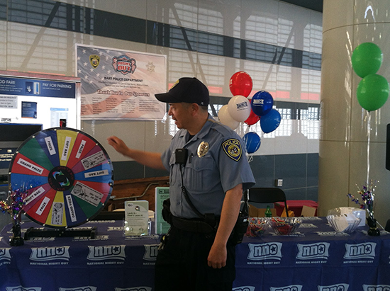 prize wheel from 2016 NNO