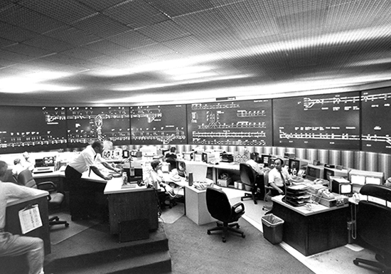 Operations Control Center historical photo