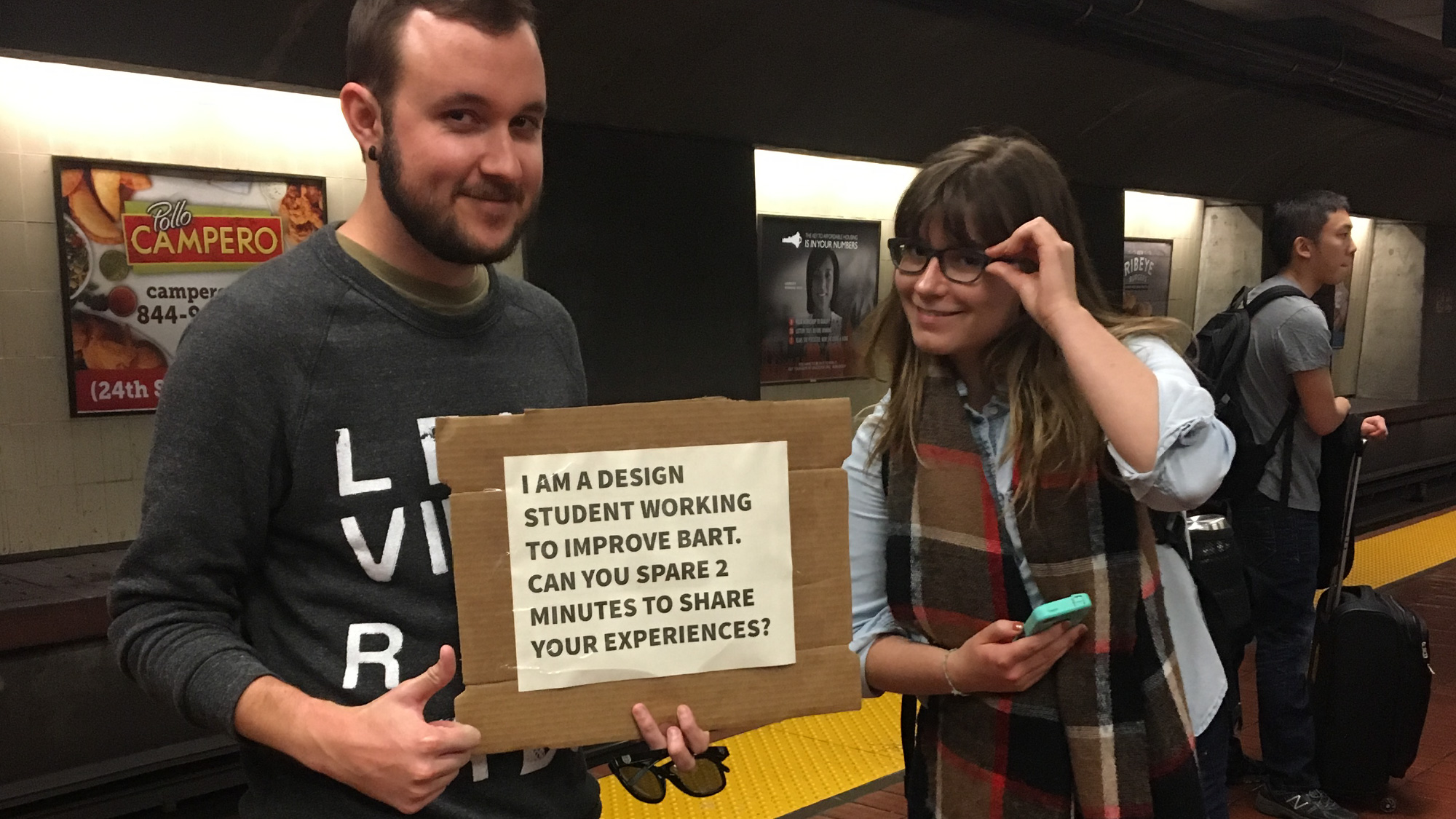 Students at BART