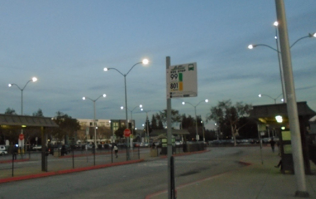South Hayward parking lot lights