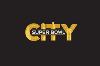 super bowl city logo