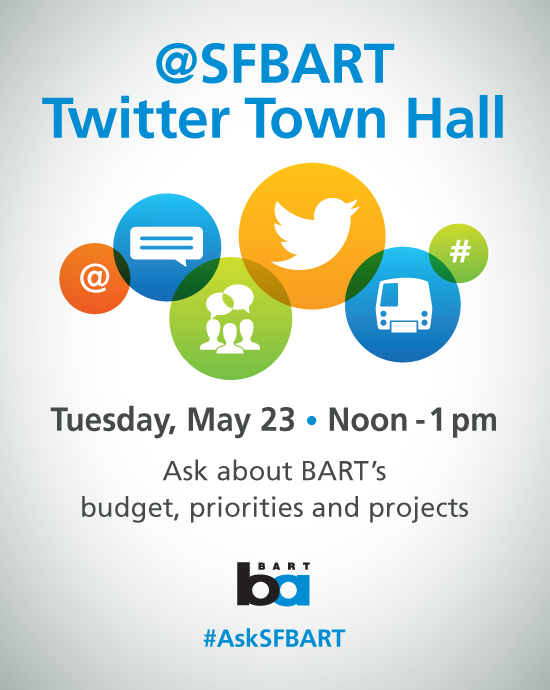 Twitter Town Hall Tues May 23 Noon-1pm