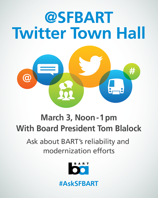 Twitter townhall flyer