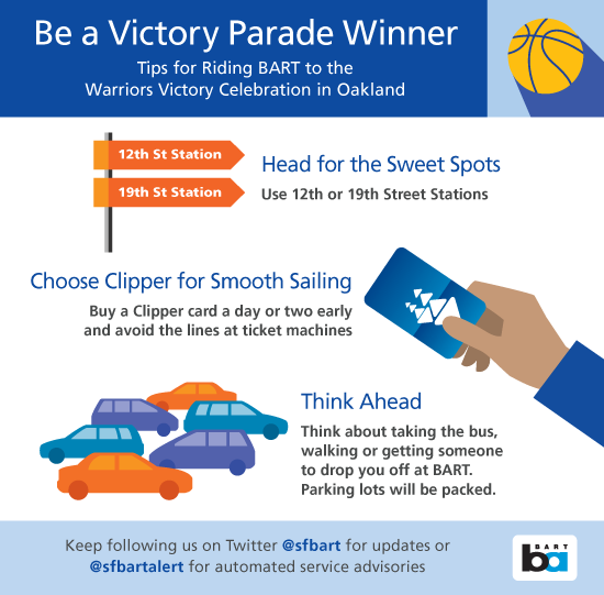 Tips for parade day