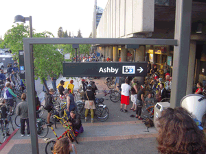 Ashby BART bike station open house