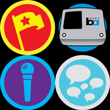 icons for four Foursquare badges