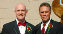 Ty (left) and Mark Carter