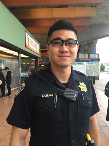 Officer Jimmy Chung
