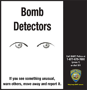 Bart Launches Bold New Anti Terrorism Awareness Campaign