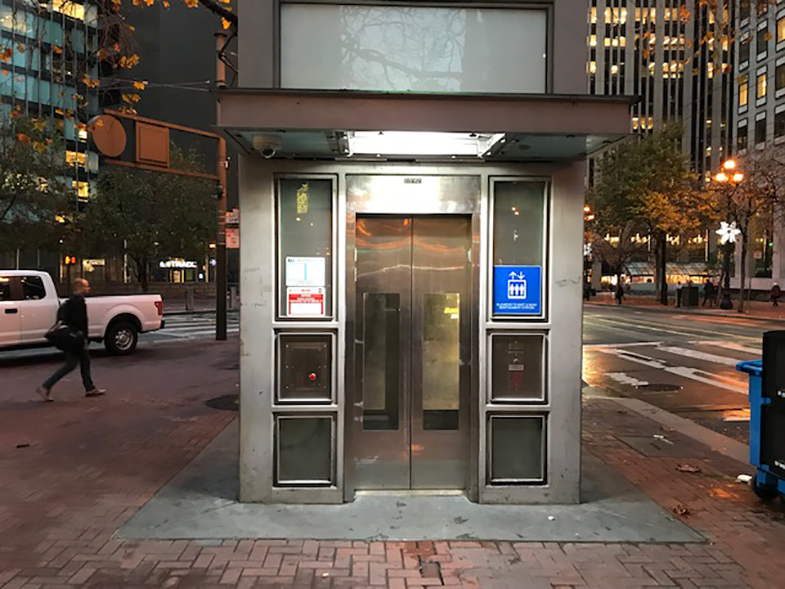 market st elevator