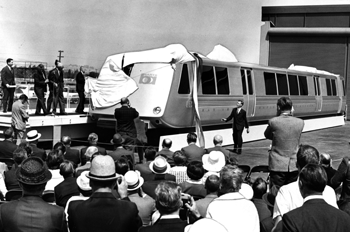 first BART train